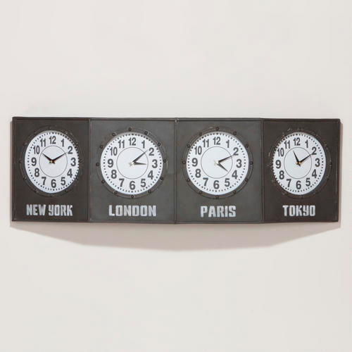 Time Zone Clock modern clocks