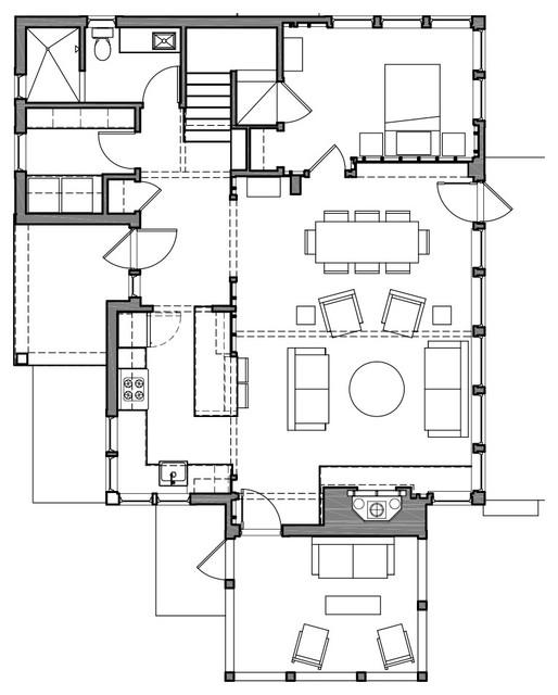 Madeline Island farmhouse-floor-plan