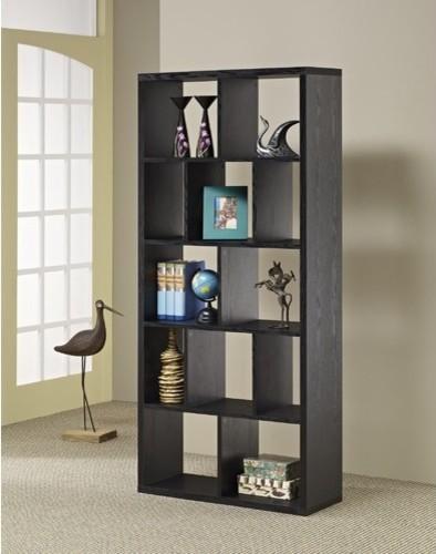 Fantastic Sheesham Wood Bookcase  3 Shelves  Chunky Modern Design Enlarged