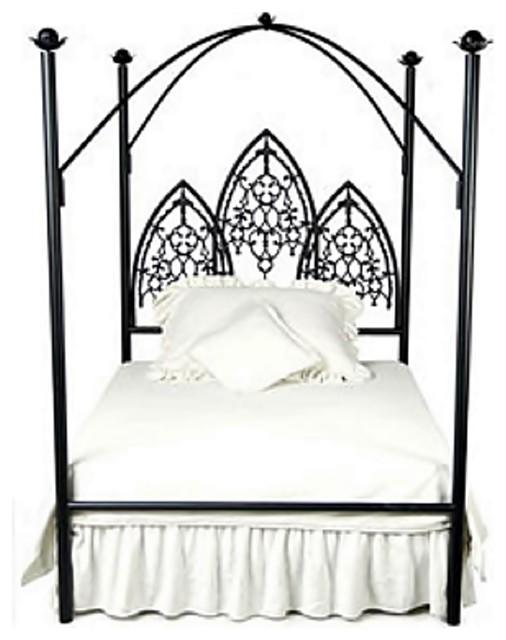 Custom Twilight Vampire Canopy Bed King Eclectic