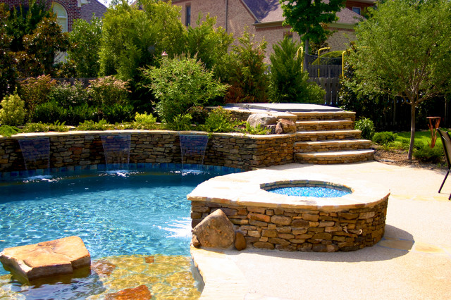Devonshire Natural Pool & Outdoor Living Design traditional-pool