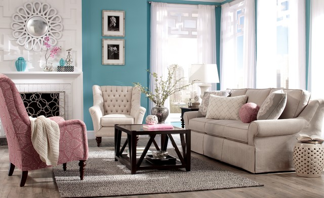 Paula Deen Upholstery Collection Traditional Sofas Charlotte By Craft