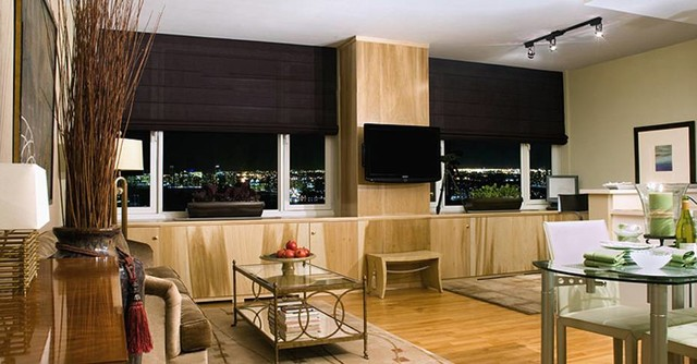 Window Coverings contemporary-window-treatments