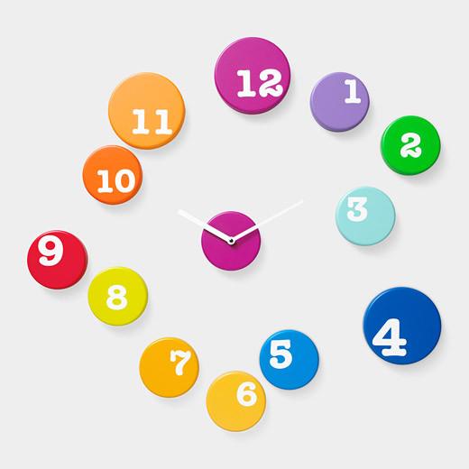 Fun Time Wall Clock contemporary-clocks