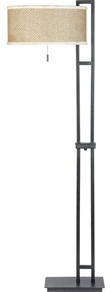 Quoizel Lighting ZE9363K 2 Light Floor Lamp Zen Collection tropical floor lamps