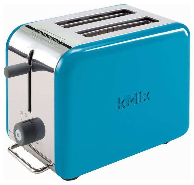 DeLonghi Kmix 2 Slice Toaster Blue Modern Toasters