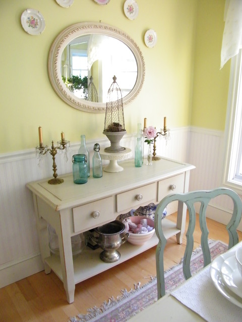 My Dining Room With Beadboard