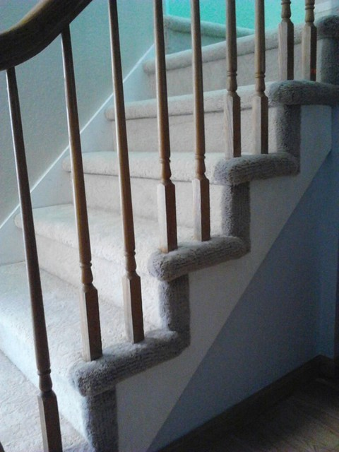 Hollywood Style Carpet Stairs - san francisco - by Precision Flooring