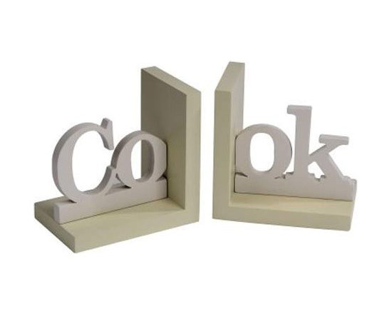 Cook Kitchen Bookends -