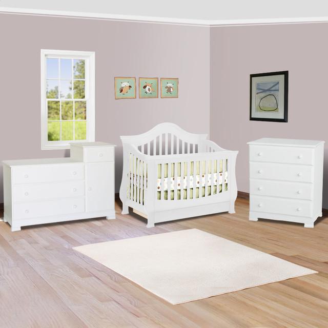 Ashbury Sleigh Convertible Crib In