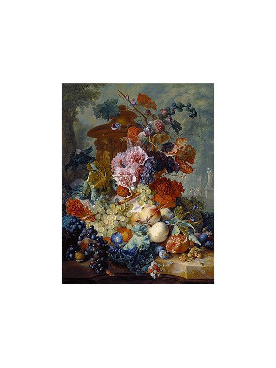 Fruit Piece, 1722 | Huysum | Canvas Print - Condition: Canvas Print - Unframed