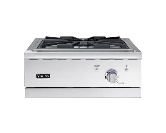 """VIKING 24"""" Outdoor Wok/Cooker, Propane Gas, Stainless 