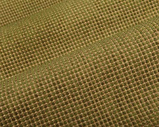 Jammu Radiance Check Upholstery Fabric in Citrine - Jammu Check Upholstery Fabric in Citrine Green is a hearty textured weave with a small-scale check pattern. Bright green chenille yarns weave in and out of the tanish green base. Ideal for upholstery projects or pillows, this heavily discounted fabric has a great value.