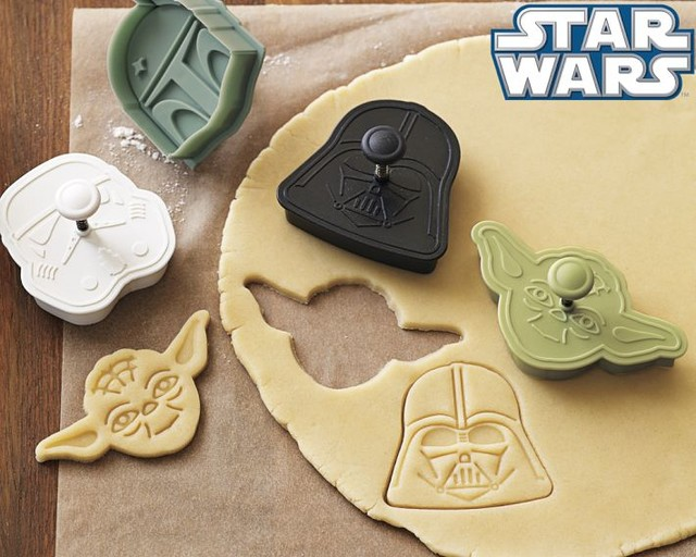 Star Wars Heroes & Villains Cookie Cutters eclectic kitchen tools
