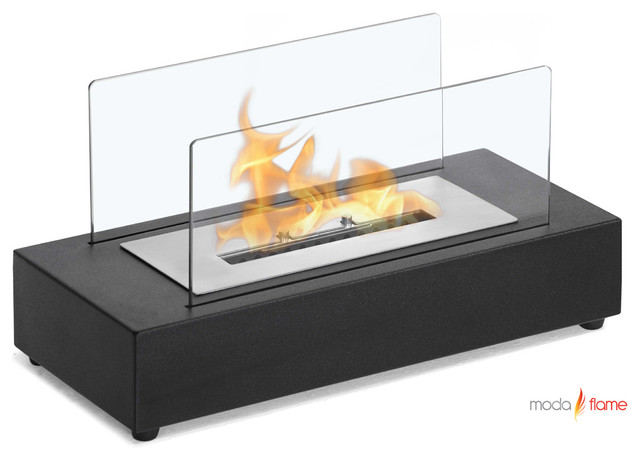 Moda Flame Rubi Table Top Ethanol Fireplace modern-fireplaces