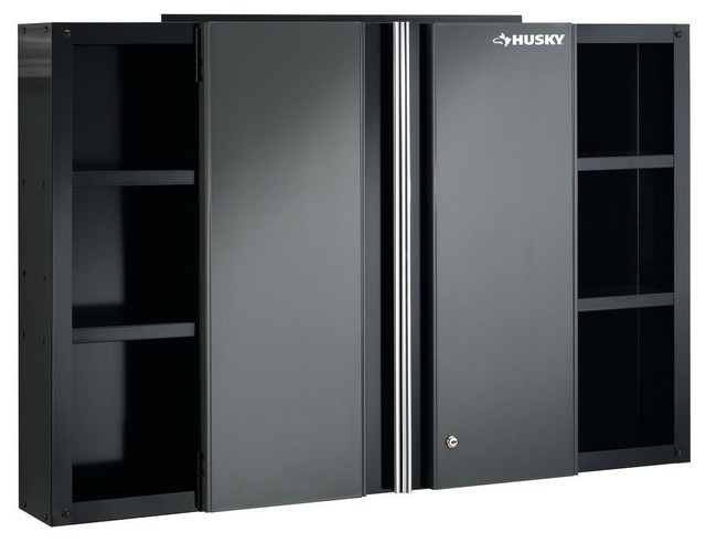 Free Standing Cabinets Racks & Shelves: Husky Garage Cabinets 48 in. Wall - Contemporary ...