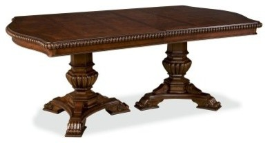 Villa Cortina Double Pedestal Dining Table modern-dining-tables