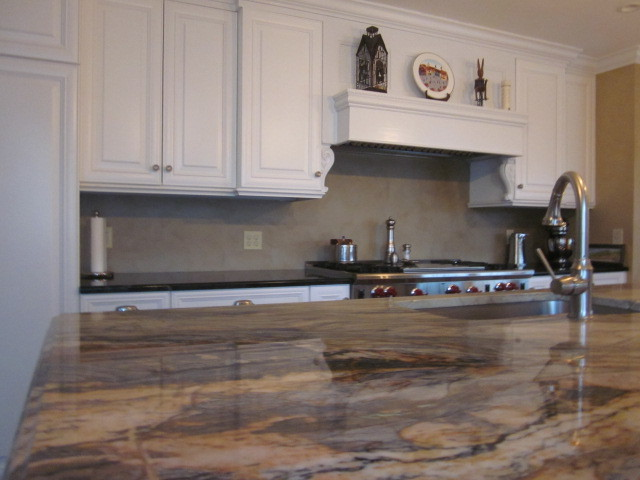 Suburban traditional in Chester county Pa traditional-kitchen