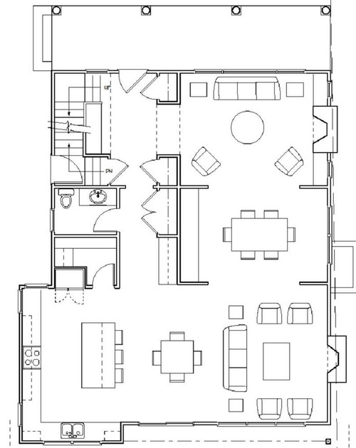Would Love Help With Floor Plan Mud Room Vs Bigger Kitchen