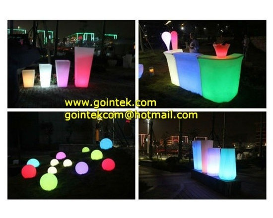 LED Glow Furniture With Light Color Change -