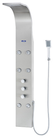 Aston Global Shower Panel System with Six Body Jets in Stainless Steel SPSS305 modern-showers