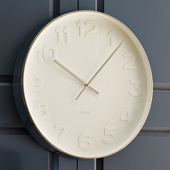 New Oversize White Wall Clock modern clocks