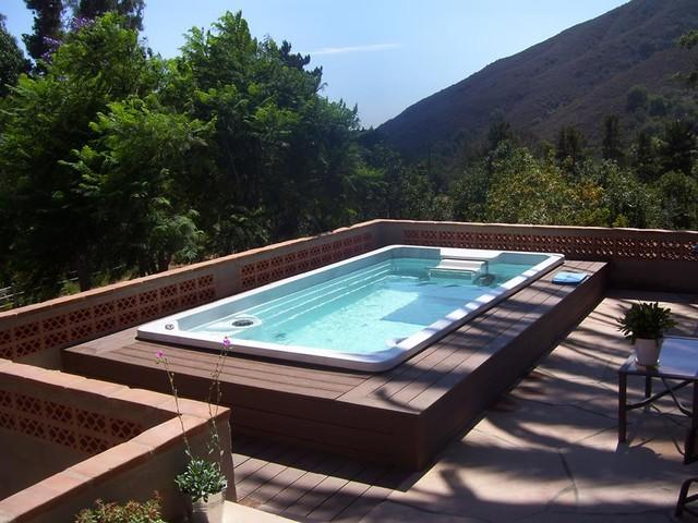 15 39 Endless Pool Swim Spa Modern