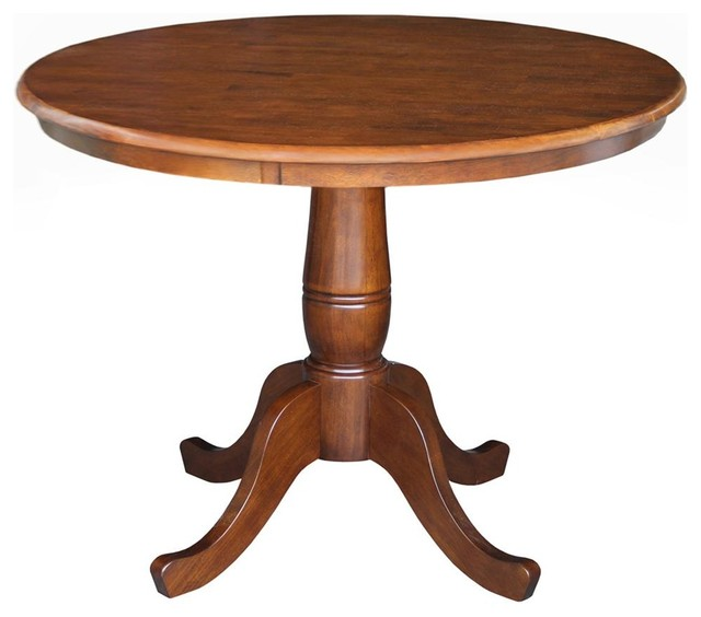 36 In Round Dining Table Traditional Dining Tables By Ivgstores