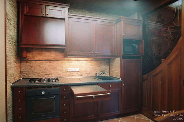 kitchen in a traditional style traditional-kitchen-cabinetry