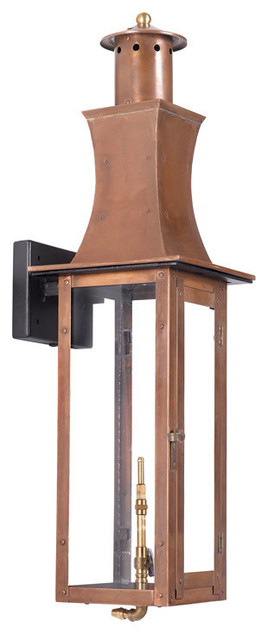 ELK 7909-WP Gas Wall Lantern transitional-outdoor-wall-lights-and-sconces