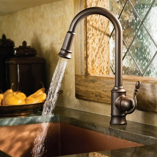 pulldown kitchen faucet kitchen faucets new york by expressdecor