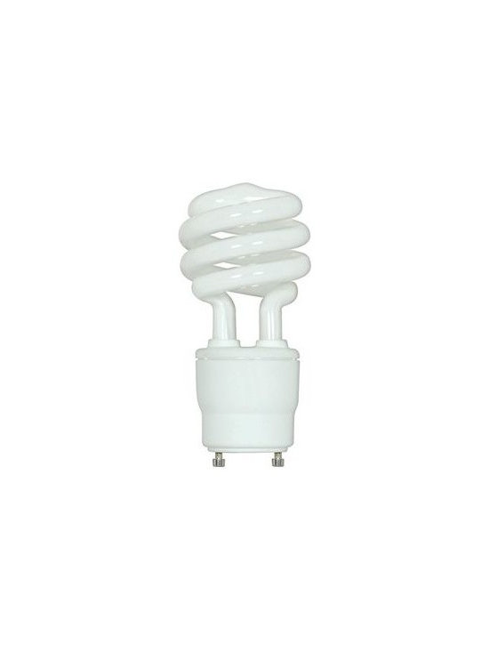 SATCO Lighting - 26W 120V T3 GU24 Mini Spiral CFL Bulb by SATCO Lighting - This energy-efficient fluorescent light bulb from SATCO is designed for general purpose use in specialized GU24 sockets. Satco, headquartered in Brentwood, NY, designs and manufactures a variety of high-quality lighting products for residential and commercial applications.