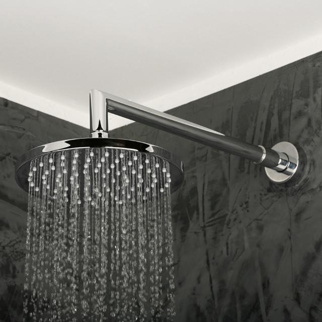 Lacava Minimal Wall Mount Rain Showerhead contemporary-showerheads-and-body-sprays