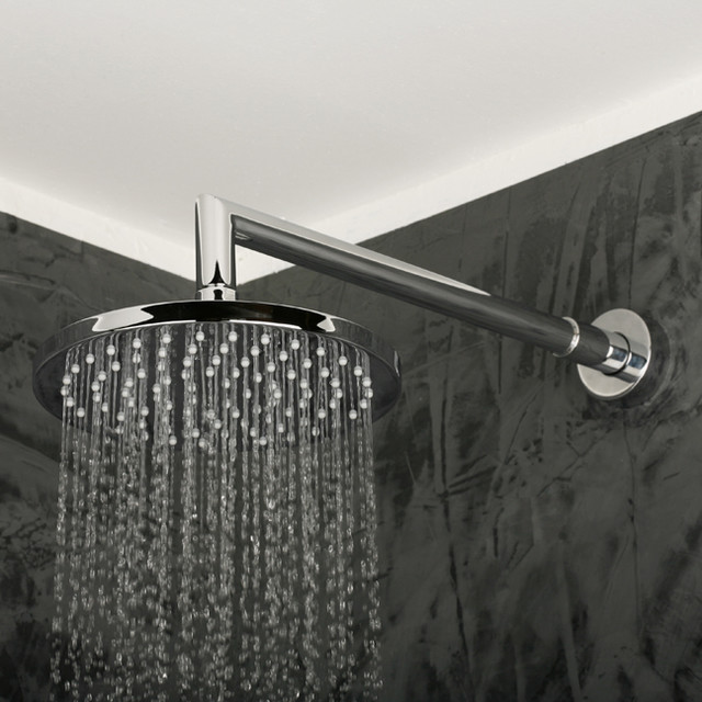 Lacava Minimal Wall Mount Rain Showerhead modern showers
