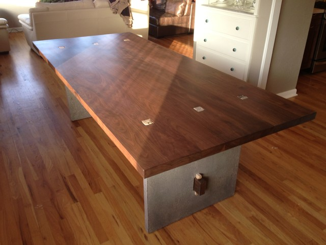 Harder Kitchen Table Modern Dining Tables Denver By Stem Woodwork