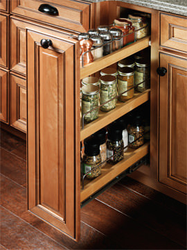 Base Pantry Roll-Out - Traditional - other metro - by Merillat