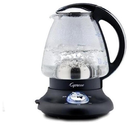 Capresso Perfect Tea Cordless 48-Ounce Electric Glass Kettle contemporary small kitchen appliances