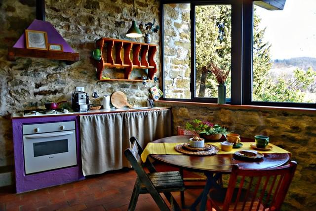 Loggia kitchen