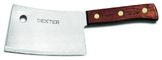 Sani Safe Cleaver 7 in White Handle modern-kitchen-tools