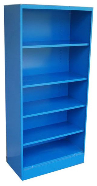 SOLD OUT! Blue Vintage Metal Bookcase - 1970's - $625 Est. Retail - $250 on Cha