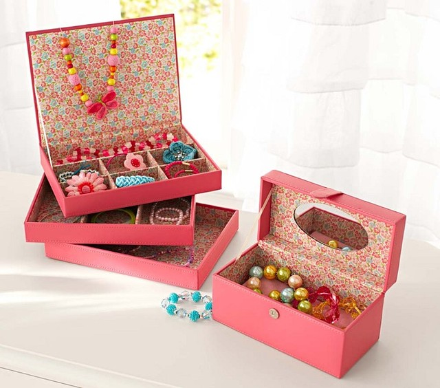 Serena Stacking Jewelry Box Collection - Contemporary - Kids Jewelry ...