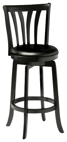 Hillsdale Savana Swivel 26 Inch Counter Height Stool In