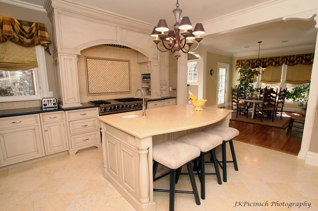 Custom Defined traditional kitchen
