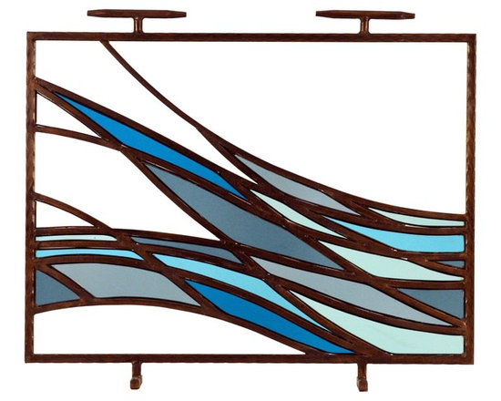 Philip Nimmo Fire Screens and Accessories - Oceano Fire Screen