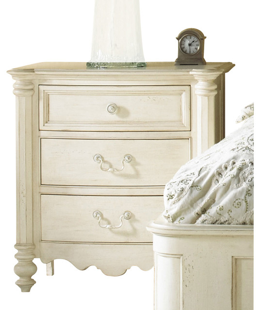 Summer Home Nightstand - traditional - nightstands and bedside