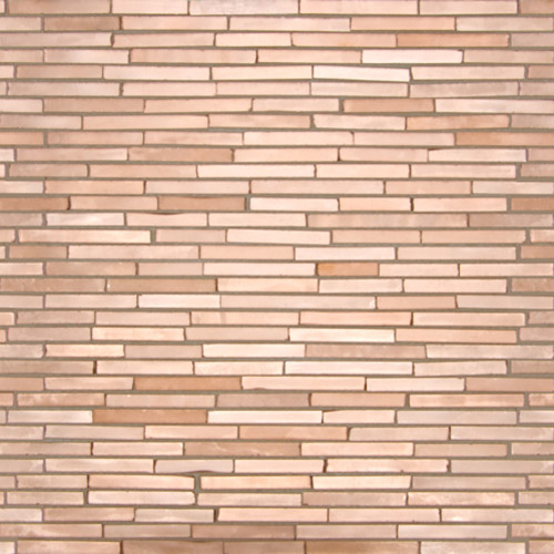 Count Basie Copper Ragtime Lines Satin Mosaic Tile contemporary-tile