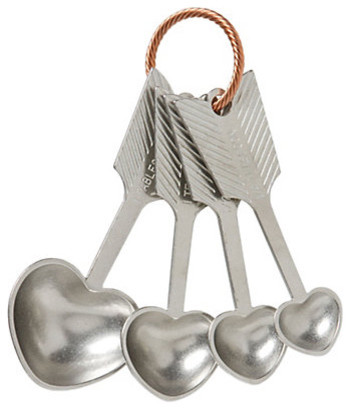 Heart Measuring Spoons eclectic-measuring-spoons