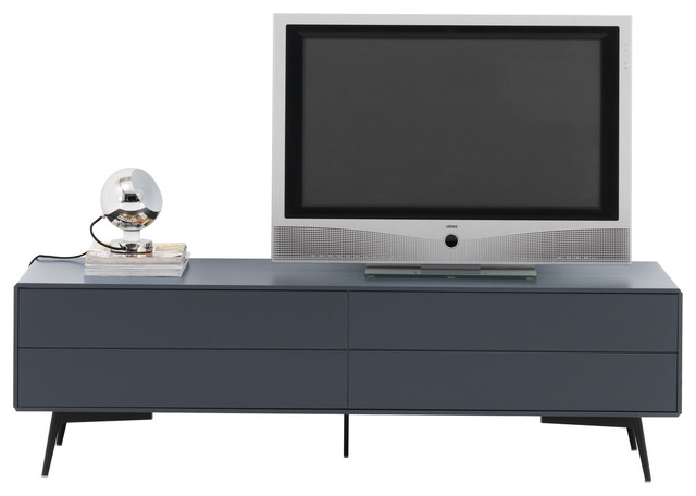fermo media unit with drop down door and drawer modern. Black Bedroom Furniture Sets. Home Design Ideas