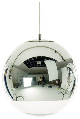 Mirror Ball Pendant by Tom Dixon modern-pendant-lighting