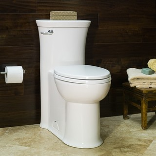 American Standard Tropic FloWise RH Elongated 1-Piece Toilet - Toilets - new york - by ExpressDecor